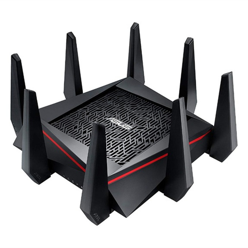 ASUS RT-AC5300 5334Mbps Wireless Router AC5300 2.4GHz/5GHz Tri-Band MU-MIMO Gigabit Wifi Repeater Router цена и фото