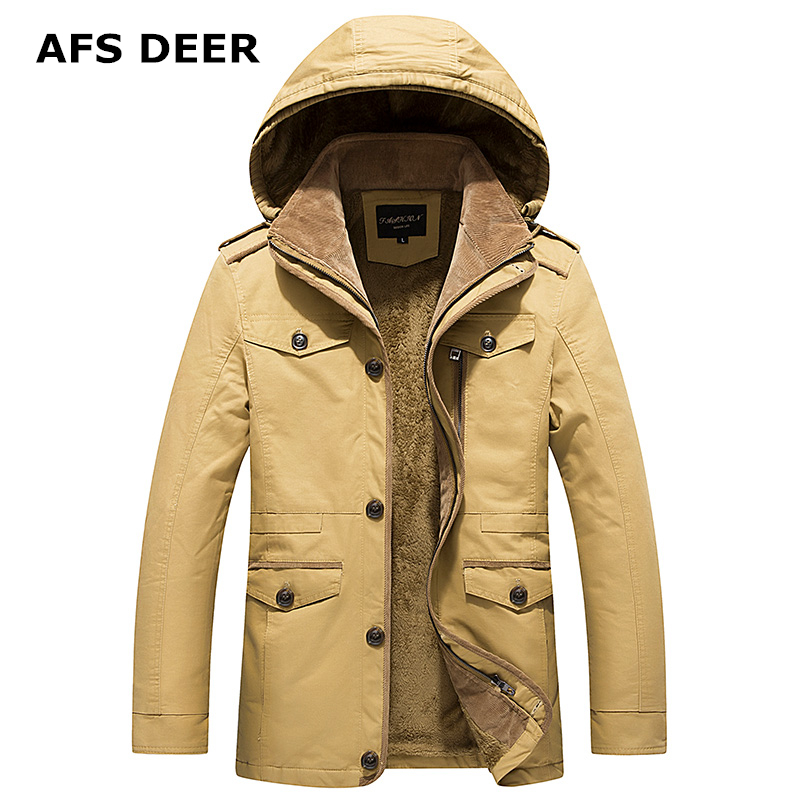 2017 Brand Quality Mens Coat and Jacket Casual Fashion Thick Arm Jackets Male 100% Cotton Outwear Windbreakers Coats Parka Men hot sale winter jacket men fashion cotton coat warm parka homme men s causal outwear hoodies clothing mens jackets and coats
