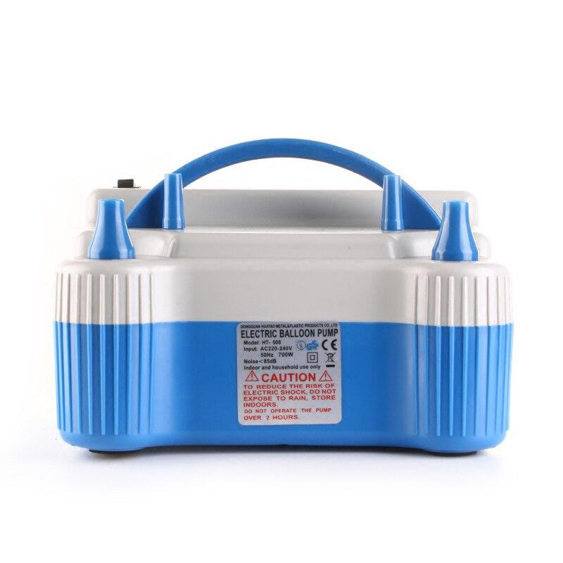 Palloncino Ugello Elettrico 700 w Pompa di Aria di Gonfiaggio Blu Ad Alta Velocità 220-240 v ALI88