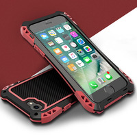 R JUST Case Cover For IPhone 5 5S SE 6 6S 7 Plus 6Plus Luxury Metal