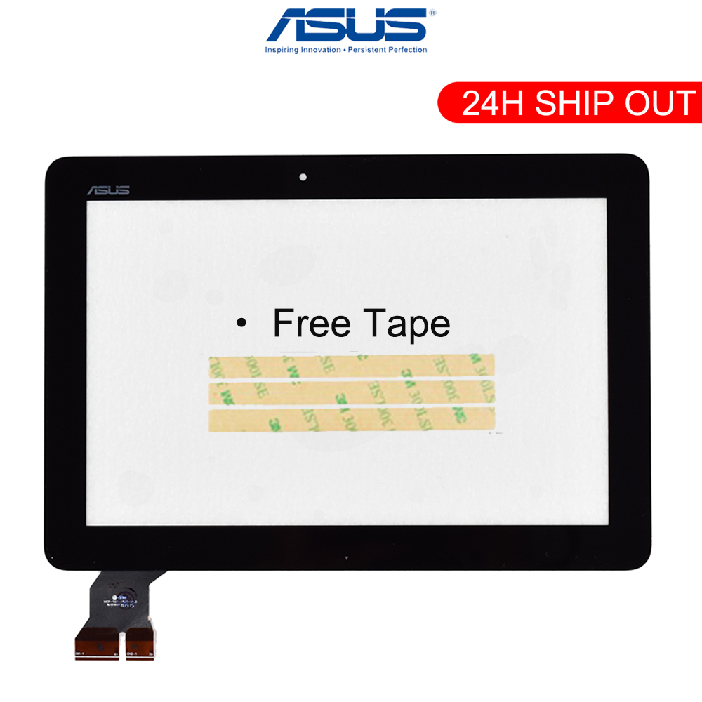 """New 10.1"""" For ASUS MeMo Pad ME103 K010 ME103C Touch Screen Digitizer Glass Panel Sensor MCF-101-1521-V1.0 Black cable(China)"""