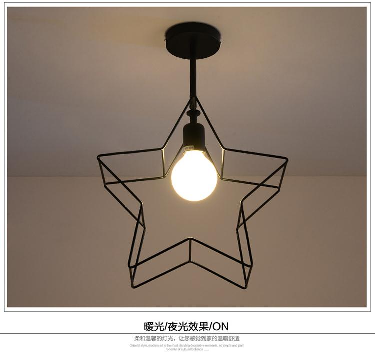 Creative personality iron pendant lamp new modern ceiling balcony bedroom study nordic modern compact pendant lights heads creative personality bedroom lamp american study balcony fabric pendant lamp za fg932