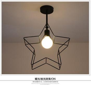Osobowość Twórcza żelaza Lampa Wisząca Nowoczesny Nowy Sufit Balkon Sypialnia Badania
