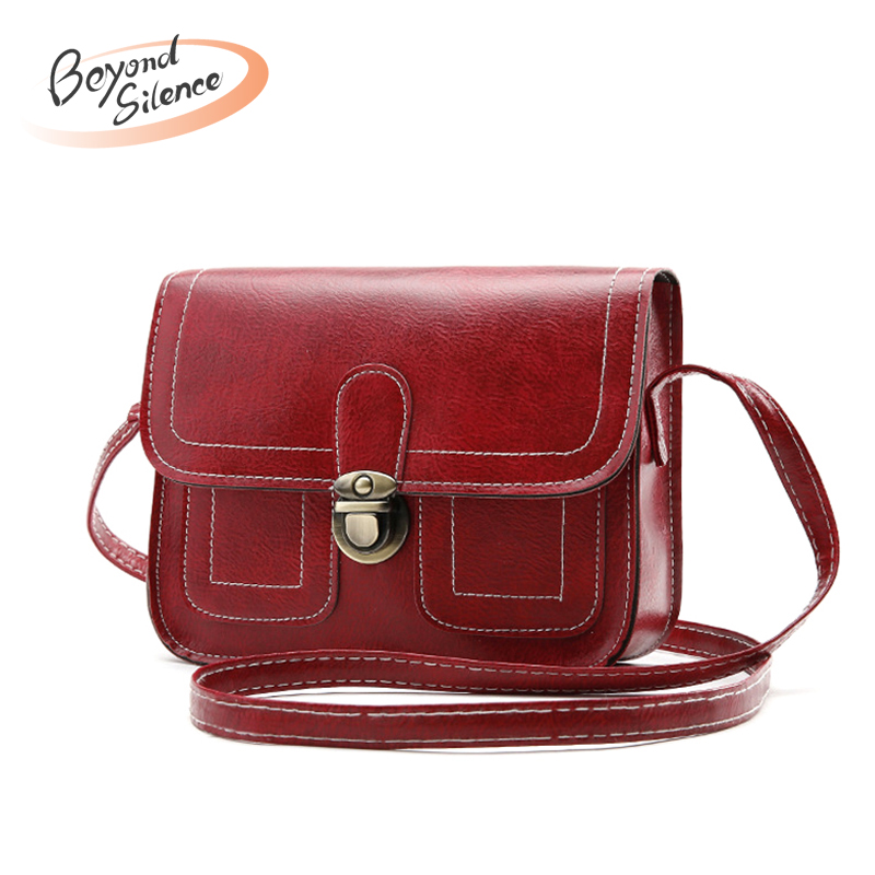 New Crossbody Bags For Women 2019 Leather Fashion Hasp Handbag Designer Small Shoulder Bag Flap Ladies Bolsa Feminina