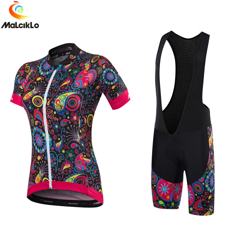 Malciklo Bicycle Clothing Cycling-Jersey Bike Pro-Team Maillot Women Skinsuit Ropa-Ciclismo