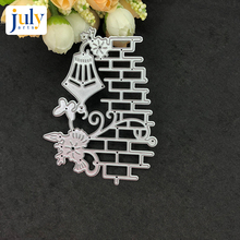 Julyarts Cutting Dies Silver Flower Scrapbooking for Handwork Gift Creative Carbon Steel Material