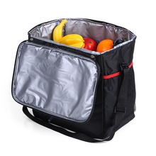 28L Heat Insulation Thermal Bag Car Refrigerator Picnic Insulated Cooler Bag Adjustable Shoulder Strap Outdoor Food Storage Tool