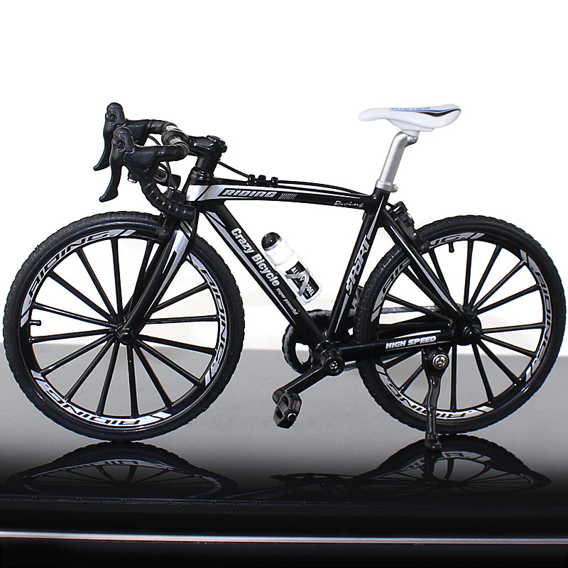 Chrome Double Sangle Support vélo de route Toe Clips Steel Track Fixed Gear Vélo