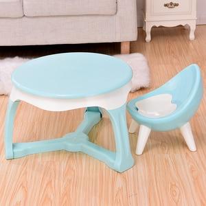 Image 2 - Spożywczy gruby plastikowy materiał przyjazny dla środowiska krzesło dziecięce stołek dziecięcy mały taboret meble dziecięce