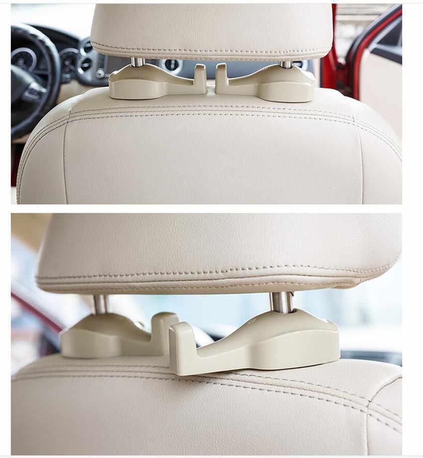 2 قطعة مقعد السيارة هوك شماعات محفظة حقيبة حامل لسوزوكي جراند SX4 سويفت ليانا فيتارا جيمي ألتو IGNIS احترام الملحقات عن بعد