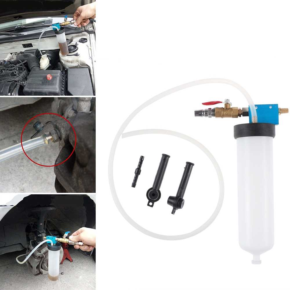 Car Brake Fluid Bleeder Oil Extractor Change Oil Bleeding Replacement Tool Clutch Oil Exchange Drained Kit Car Pumping Brakes
