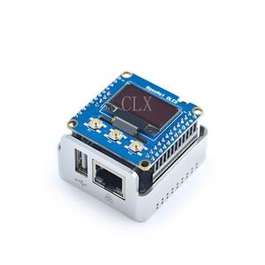 Image 3 - Nanopi NEO2 All Metal Aluminum Housing Kit with OLED Display Ubuntu v1.1 LTS Development Board Faster than Raspberry PI 40X40mm