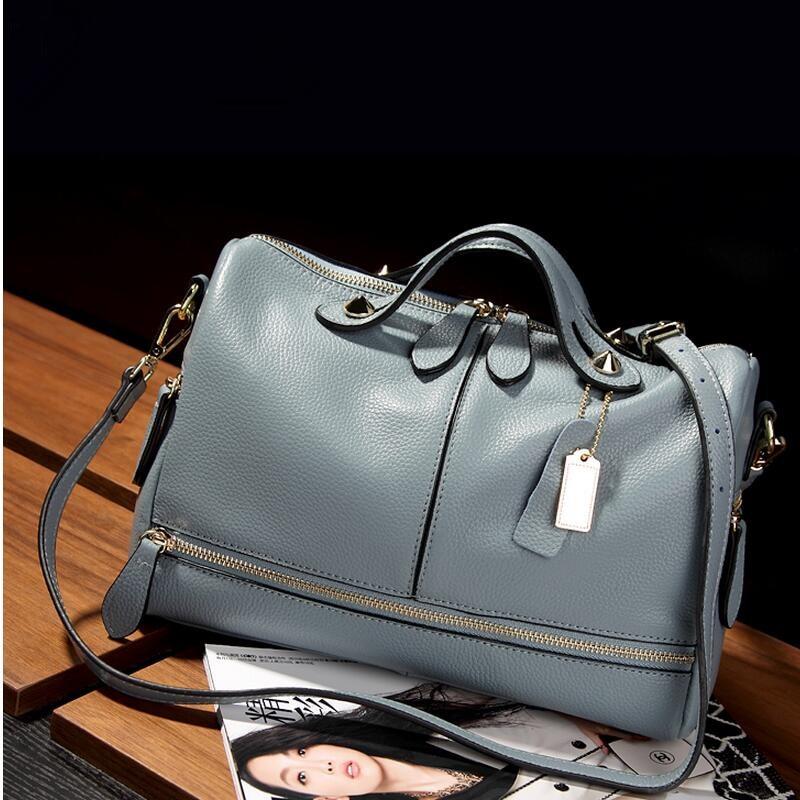 Divatos női táska Puha bőr párna Női kézitáskák Márka nagy - Kézitáskák - Fénykép 3