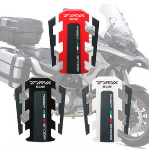 Motorcycle Stickers Fuel Tank Sticker Fishbone Protective Decals For Benelli TRK 502 2017 2018(China)