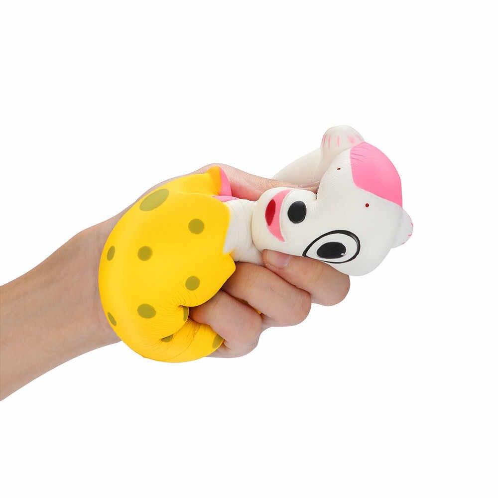 Squeeze Stress Reliever Leuke Baby Slangen Langzaam Stijgende Speelgoed Kinderen Geschenken Puzzel speelbal