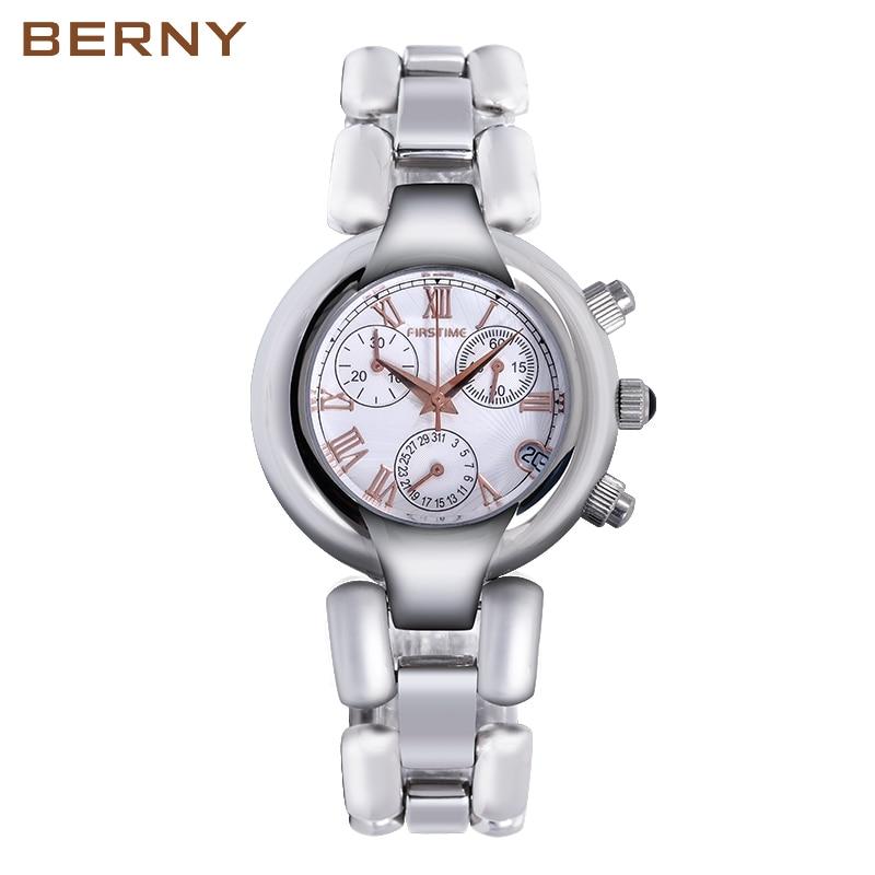 Berny Women's Watches Fashion Ladies Watches For Women Bracelet Relogio Feminino Clock Gift Wristwatch Luxury Bayan Kol Saati