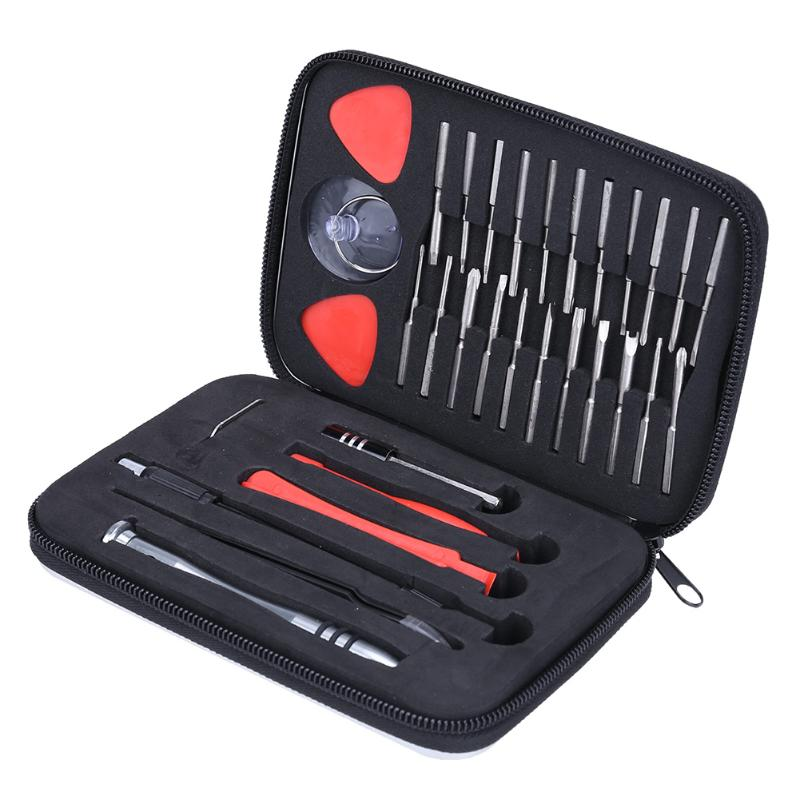 Multifunctional 32 in1 Precision Screwdriver Set For iPhone Electronic Screwdriver Bits Repair Disassembly Tools Set