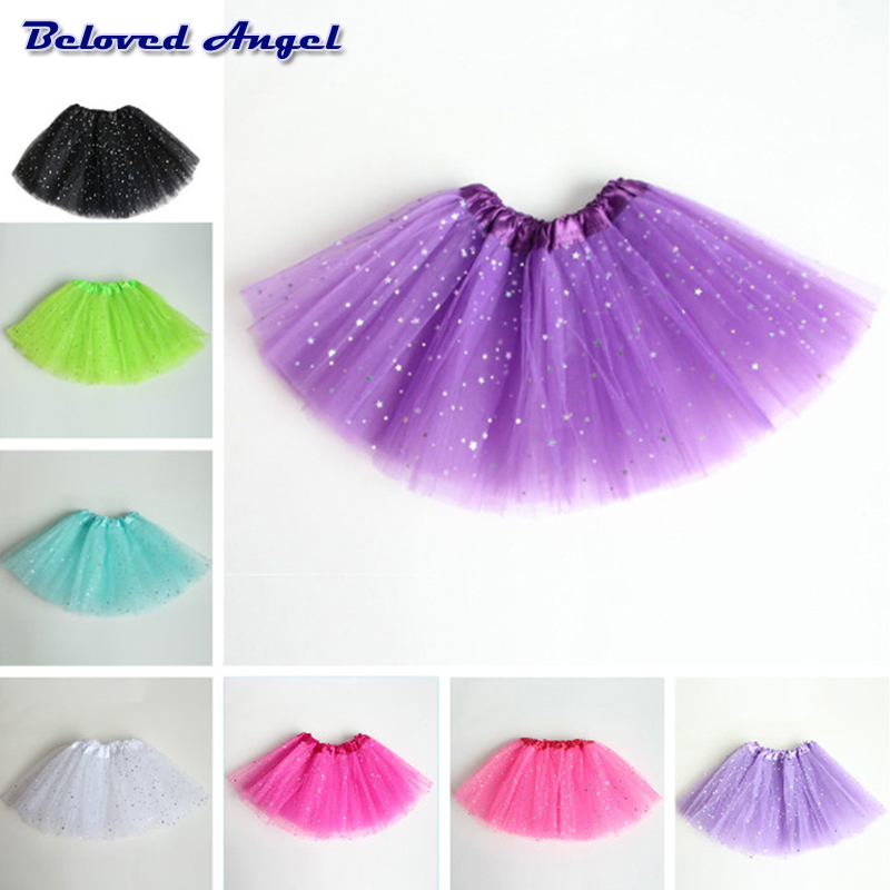 Baby Tutu Skirt Girl Skirts Kids Net Yarn Chiffon Tulle Skirt Children's Performance Clothes Girls Ballet Dancing Party Skirt 1