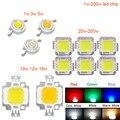 High Power 1 W 3 W 5 W 10 W 20 W 30 W 50 W 100 W COB LED natürliche Weiß 4000 K-4500 K für DIY LED Flutlicht Scheinwerfer