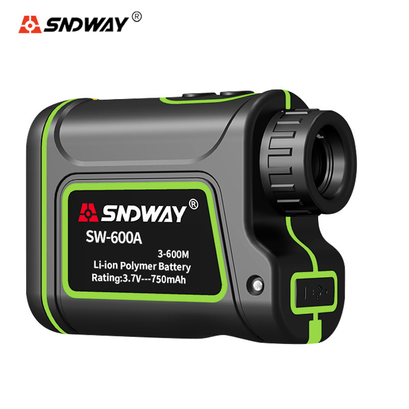 SNDWAY Telescope Laser Rangefinders 1000M 1500M 600M Distance Meter Hunting Golf Tape Measure Monocular Range Finder