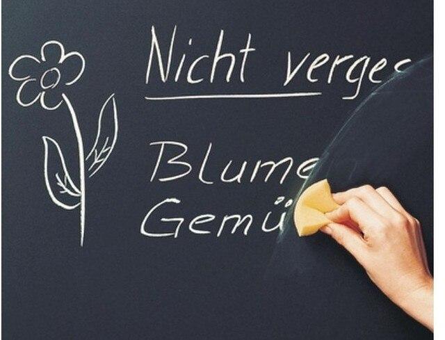 Dull blackboard stickers 60 2 meters household blackboard teaching blackboard wall stickers