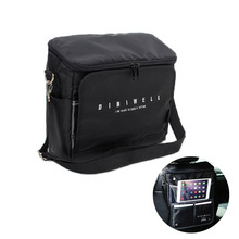 Travel Organizer Car Seat Back Hanging Ice Pack Insulation Thermal Bag Lunch Box Waterproof PVC