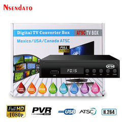 ATSC TV BOX lądowych 1080 P HDMI MPEG4 Youtube cyfrowy receptora dekoder satelitarny Odbiornik TV konwerter dla USA/meksyk/ kanada
