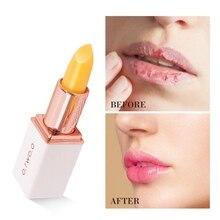 Красота Цвет меняющий увлажняющий бальзам для губ осветляет тон губ осветляет линии губ