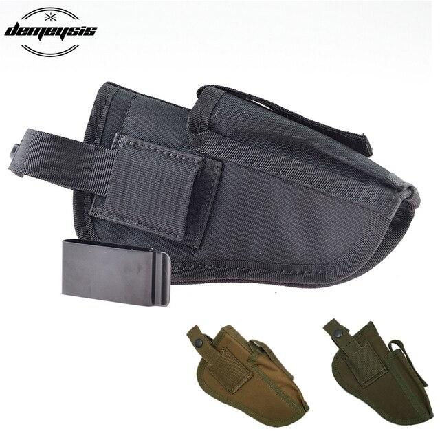 Mão esquerda ou Direita Intercambiáveis Tactical Pistol Hand Gun 17 Beretta e mais pistol Holster serve para Glock