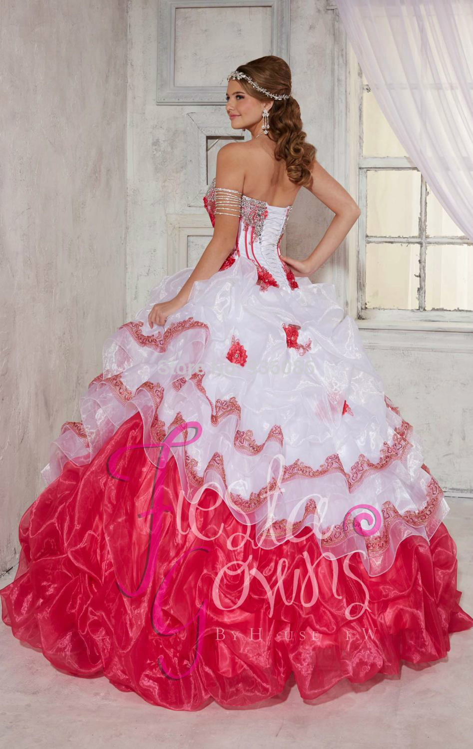 Dress coral picture more detailed picture about prom and wedding prom and wedding dresses black pink quinceanera dark purple websites lime green built in bra ombrellifo Choice Image