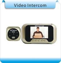Free Shipping DIY 8G memory 3″TFT LED Audio Intercom Doorbell /Digital Door Viewer / Video Peephole Camera