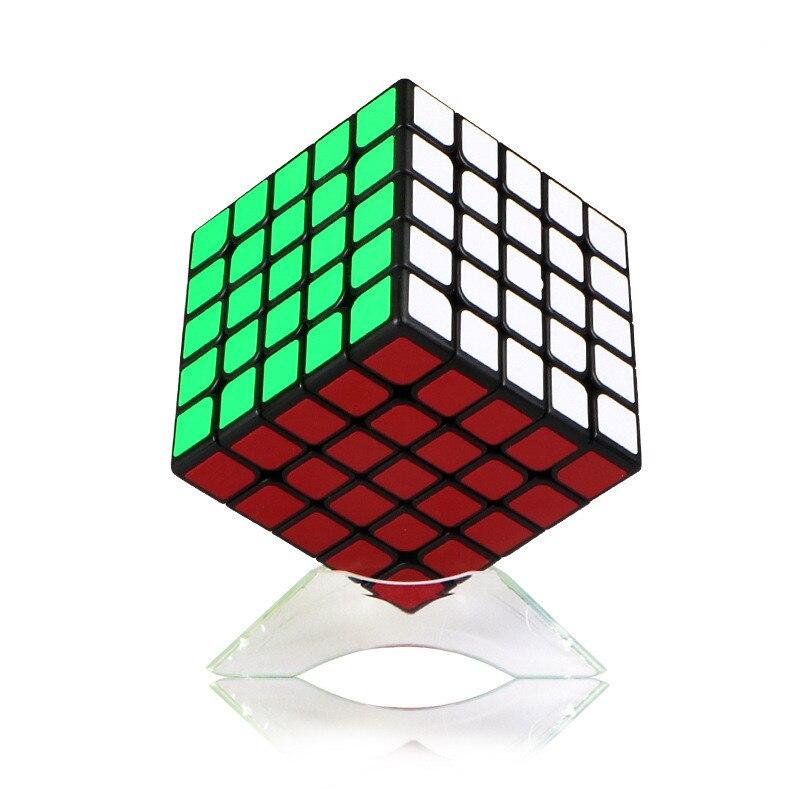 Cubos de la magia profesional 5*5*5 6,2 cm Etiqueta de velocidad de giro rompecabezas juguetes para niños de regalo Rubiks cubo