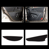 4 pcs Tecido Proteção Porta Mats Anti-kick Decorativa Almofadas Para Kia Sportage R