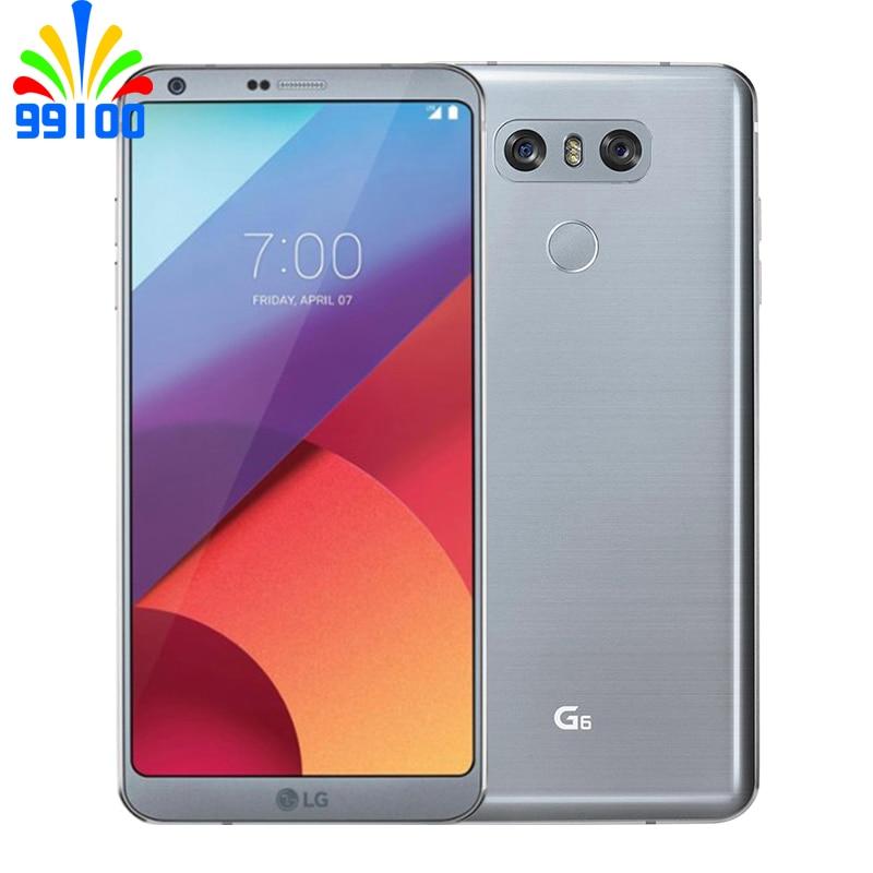 "Unlocked Original Cellphone LG G6 H871/H872/H873 5.7"" Inch 4GB RAM 32GB ROM Snapdragon 821 Dual Back Camera LTE  Fingerprint"