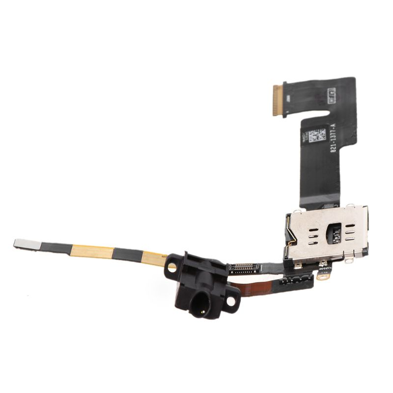 Flex Cables Flex Cable Sim Card Reader 3g Version Headphone Jack Audio Replacement For Apple Ipad 2 Dropshipping