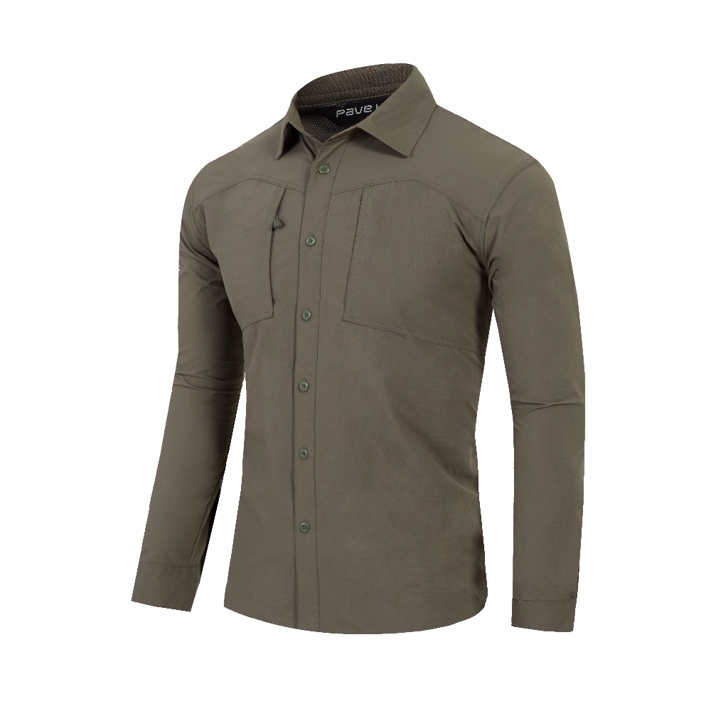 Long Sleeve Men Summer UV Protection Fishing Shirt Fast Dry Sports Shirts Cycling &Trekking Shirts Outdoor Shirts  standing