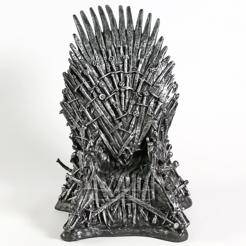 The Iron Throne Desk Statue Sword Chair PVC Figure Collectible Model Movie & TV Toy Gift 16cm/30cmThe Iron Throne Desk Statue Sword Chair PVC Figure Collectible Model Movie & TV Toy Gift 16cm/30cm