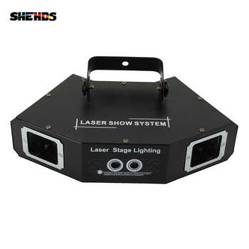 Four Eyes Red Green Blue Sector Scan Gobo Laser DMX512 Stage Effect Lighting Good For DJ Disco Party Dance Floor Bar And Clubs - DISCOUNT ITEM  6% OFF All Category