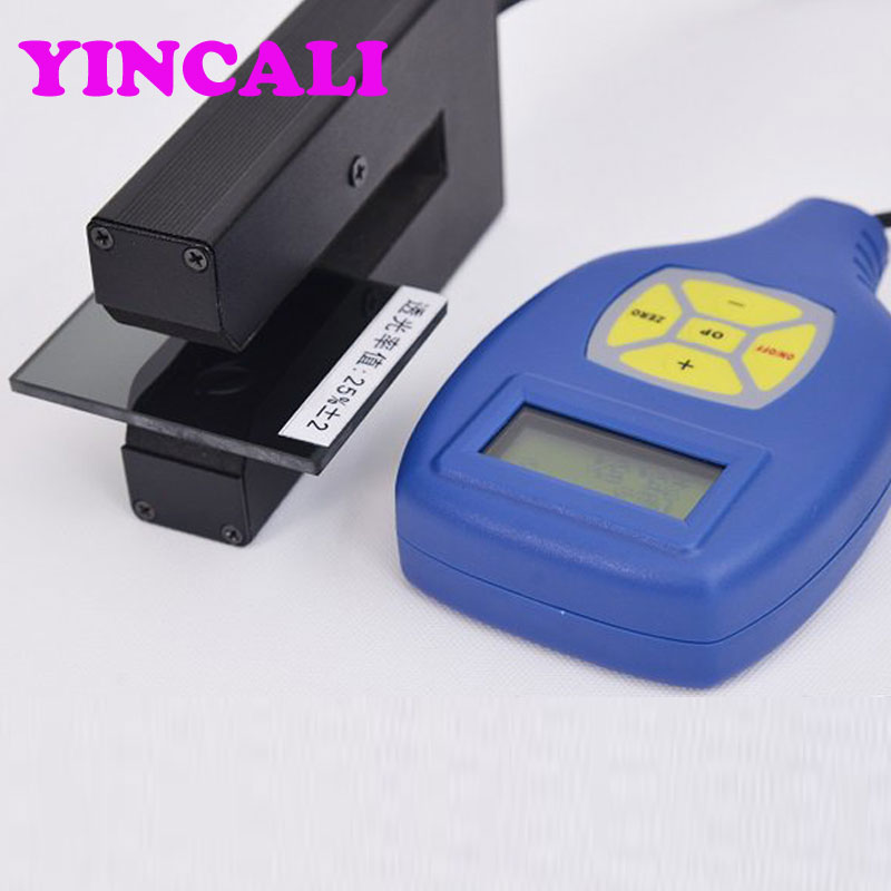 Window tint meter ETT 0681 Small Portable Light Transmission Meter test the transmission of automobile glass and other abjects