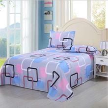 Bed Sheet + Pillow Case  Decor Brand 100% Cotton Sheets Na Home Textile Para Flower Pattern Protector Coverlet