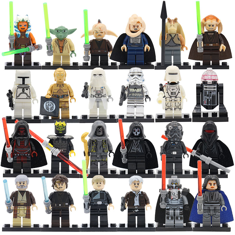 POGO Star Wars Blocks Batman Super Heroes DIY Model Building Bricks Set Educational Toys For Children Birthday Gifts Lepin