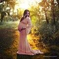 Модный кружевной топ для беременных, реквизит для фотосессии, платья для беременных, Одежда для беременных, платья для фотосессии, платье дл...