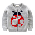 Casual Children Hoodies Boys Keep Warm Winter Cartoon Zipper Sweatshirts Girls Cute Sweater Kids coat jacket clothing velvet
