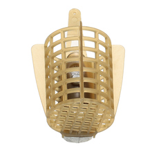 Fishing Accessories Feeder Bait Cage Lure Holder Basket Carp Fishing  Cage with Lead Sinker 30g/40g/50g/60g/70g/80g