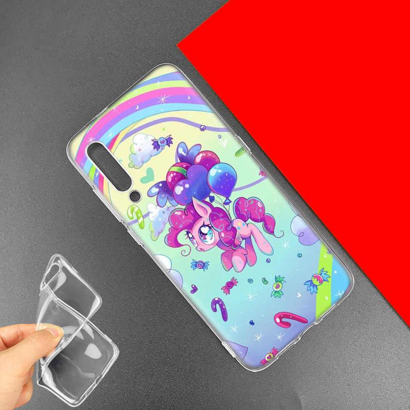 My Little Pony per il Caso di Xiaomi Redmi Nota 8 8T 9S 7 9 Pro 7A K30 Zoom MI 10 5G CC9 9T 9T A3 Poco X2 F2 Anime Sacchetti Del Telefono Della Copertura