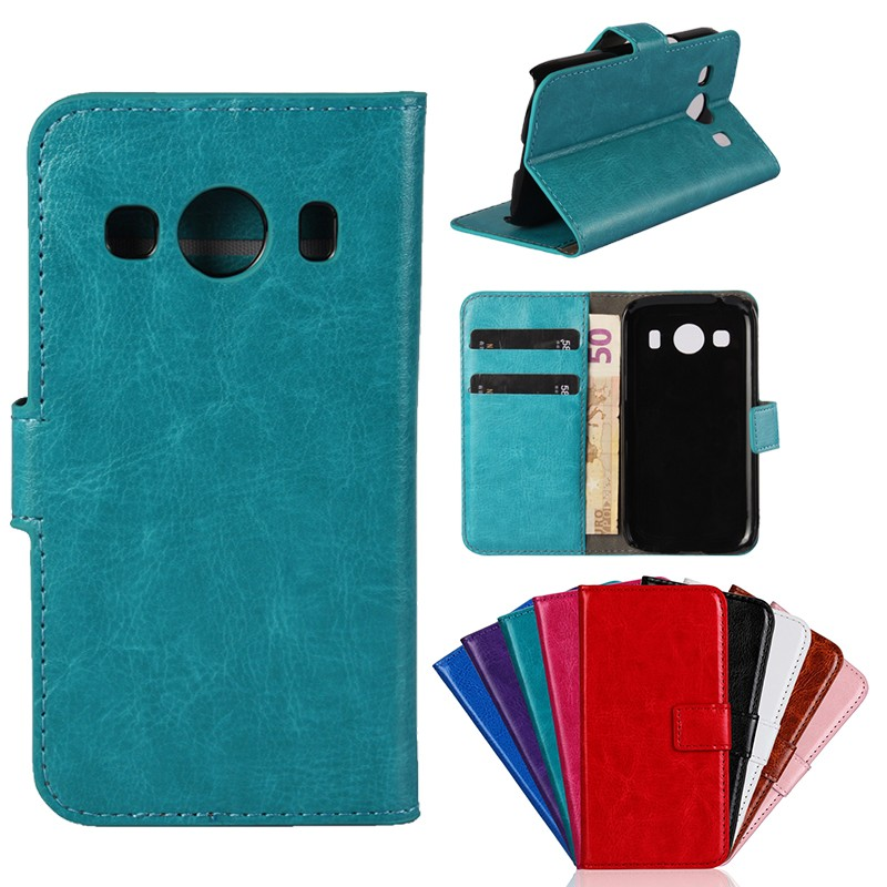 Bag Mobile-Phone-Accessory G357FZ Samsung Galaxy Cases Flip-Case-Cover Etui Coque Leather Wallet