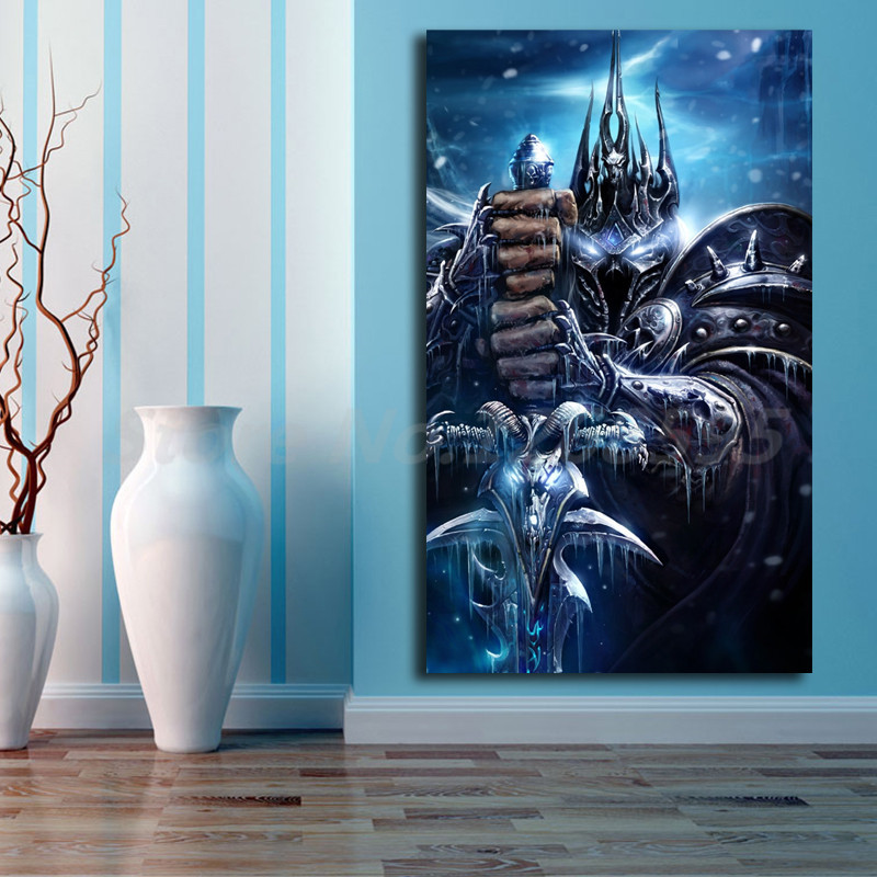 Living Room Background Animated: World Of Warcrafts Lich King Animated Wallpaper Canvas