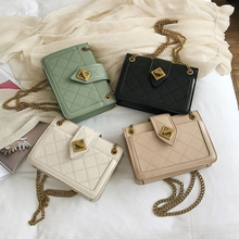 Chain Sling Cross Body Bag Clutch Over Shoulder Women's Bags Sale Messenger Bag White Small Hard Flap For Women Ladies Fashion цена