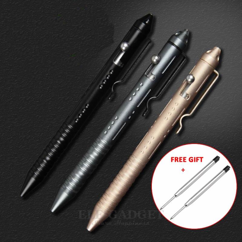 Outil portatif d'edc d'alliage d'aluminium de briseur de verre d'auto-défense de stylo tactique pour le stylo à bille de Kit d'urgence de Camp extérieur