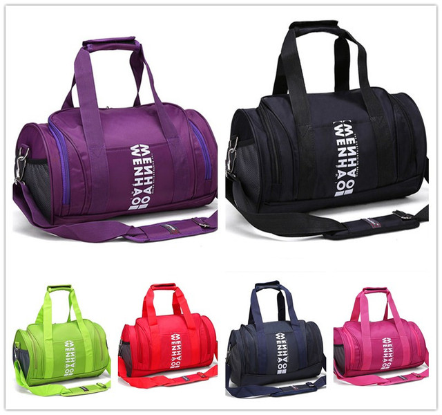 6 Colors Soccer Sport Bag Outdoor Travel Camping Hiking Duffle Bags Women And Men Handle